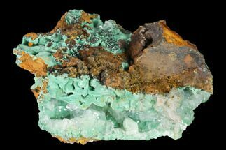 "Buy 2.7"" Malachite and Calcite Association - Zacatecas, Mexico - #144226"