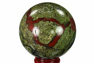 "Buy 2.4"" Polished Dragon's Blood Jasper Sphere - South Africa - #146077"