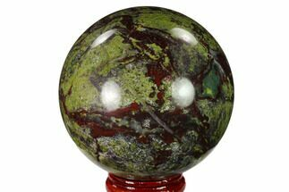 "Buy 2.4"" Polished Dragon's Blood Jasper Sphere - South Africa - #146080"