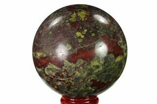 "2.7"" Polished Dragon's Blood Jasper Sphere - South Africa For Sale, #146090"