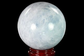 "Buy 5.4"" Polished Blue Calcite Sphere - Madagascar - #149356"