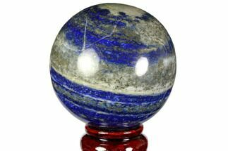 "Buy 2.95"" Polished Lapis Lazuli Sphere - Pakistan - #149365"