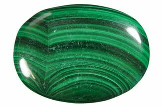 "1.8"" Polished Malachite Pocket Stones For Sale, #150383"
