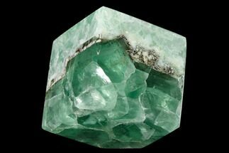 "2.4"" Polished Green Fluorite Cube - Mexico For Sale, #153392"