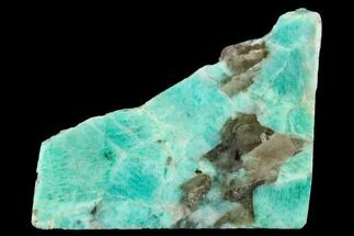 "Buy 4.6"" Wide, Polished Amazonite Slab - Madagascar - #152206"