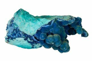 Shattuckite & Chrysocolla - Fossils For Sale - #155841