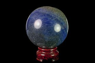 "Buy 2.9"" Polished Dumortierite Sphere - Madagascar - #157684"