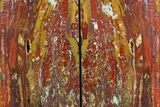 "8.2"" Tall, Red And Yellow Jasper Bookends - Marston Ranch, Oregon - #158884-1"