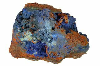 "2.7"" Druzy Azurite Crystals on Matrix - Morocco For Sale, #160328"