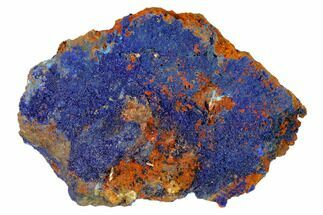 "3.3"" Druzy Azurite Crystals on Matrix - Morocco For Sale, #160334"