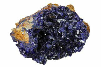 "2.2"" Sparkling Azurite Crystal Cluster - Laos For Sale, #162575"
