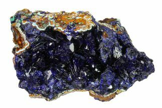 "2"" Azurite Crystals with Malachite & Chrysocolla - Laos For Sale, #162581"