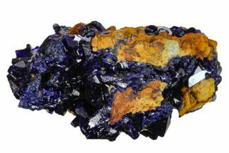 "1.5"" Sparkling Azurite Crystal Cluster - Laos For Sale, #162569"