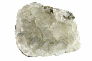 "3.8"" Calcite Crystal Cluster on Quartz - China For Sale, #163175"