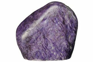 "2.7"" Free-Standing, Polished Purple Charoite - Siberia, Russia For Sale, #163961"