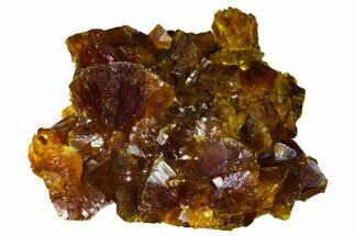 "Lustrous, 2.3"" Orpiment Crystal Cluster - Twin Creeks Mine, Nevada For Sale, #168398"