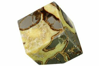 "3.3"" Wide, Polished Septarian Cube - Utah For Sale, #169526"