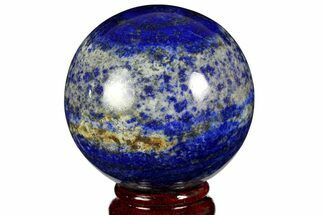 "2.7"" Polished Lapis Lazuli Sphere - Pakistan For Sale, #170864"