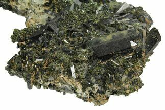 Epidote & Actinolite - Fossils For Sale - #164844
