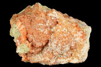 "2.3"" Red-Orange Stilbite Crystal Cluster with Laumontite - Peru For Sale, #173297"
