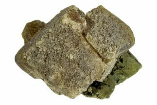 Siderite & Chalcopyrite - Fossils For Sale - #173391