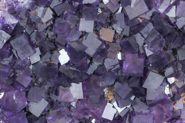 Beautiful, purple cubic fluorite from Harding County, Illinois