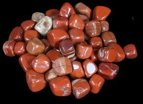 Bulk Polished Red Jasper - 8oz. (~ 10pc.)