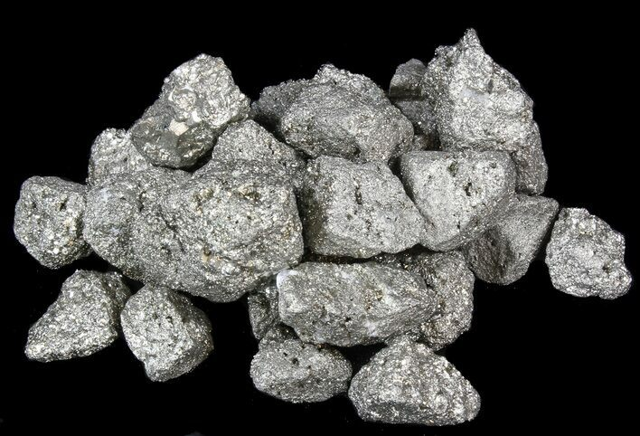 Bulk Pyrite (Fools Gold) - 8oz. (~ 8pc.) - Photo 1