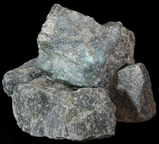 "Bulk Rough Labradorite Chunks 2"" to 3"" - 25 Pack - Photo 1"
