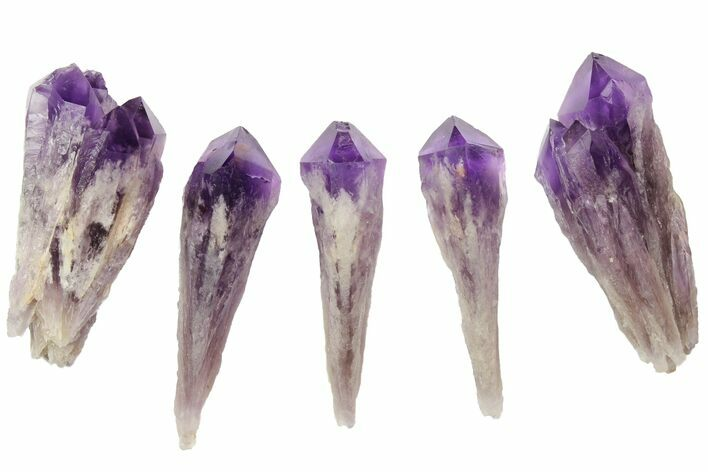 "3"" Natural, Amethyst Crystal Point - 1 Point - Photo 1"