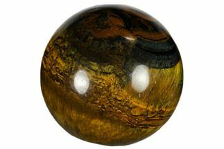 "1.2"" Polished Blue Tiger's Eye Sphere"