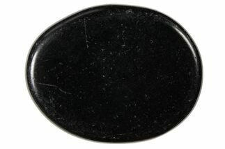 Polished Black Obsidian Flat Pocket Stones