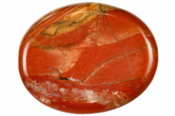2 Polished Red Jasper Worry Stone For Sale Fossilera Com