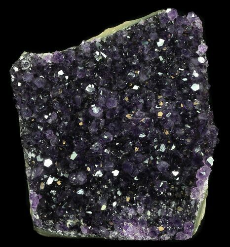 "4.2"" Deep Purple Amethyst Cut Base Cluster - Uruguay"