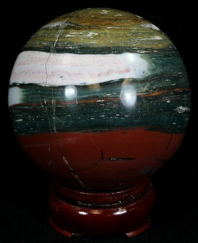 "2.78"" Unique Ocean Jasper Sphere"