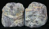 "4.2"" Dugway Geode Bookends - Sparking Crystals - #33199-3"