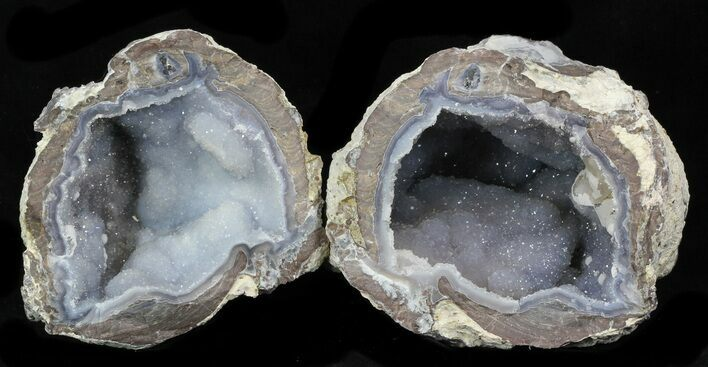 "3.3"" Crystal Filled Dugway Geode"