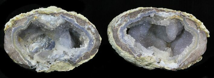 "3.8"" Crystal Filled Dugway Geode"