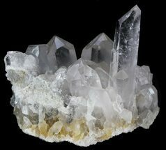 "3.8"" Quartz Crystal Cluster - Arkansas For Sale, #33347"