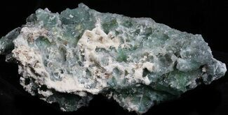 "Buy 3.4"" Green Fluorite & Druzy Quartz - Colorado - #33361"