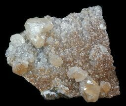 "3.9"" Red Calcite Crystals - Santa Eulalia For Sale, #33836"