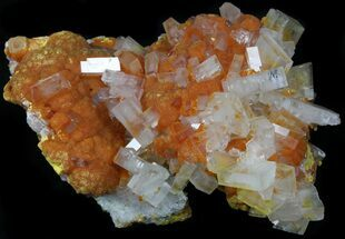 "Buy 4.5"" Barite On Orpiment From Peru - Collector Specimen - #34303"