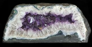 "Buy 18"" Amethyst & Calcite Geode From Brazil - 40 lbs - #34450"