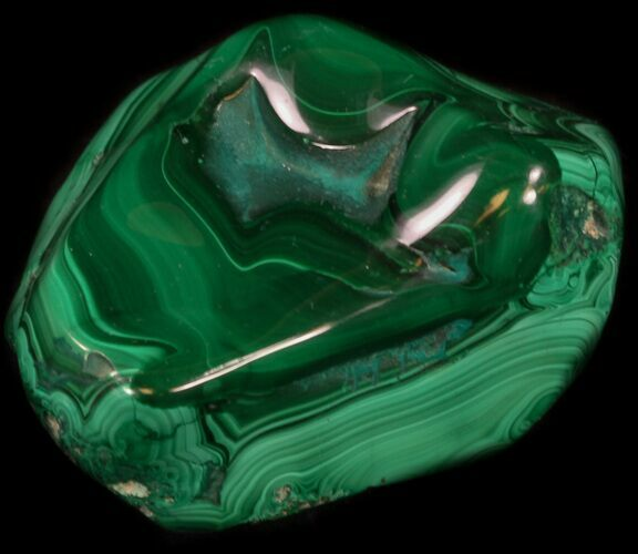 "3.4"" Polished Malachite Specimen - Congo"