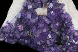 "16"" Purple, Cubic Fluorite Plate - Cave-in-Rock (Reduced Price) - #35710-6"