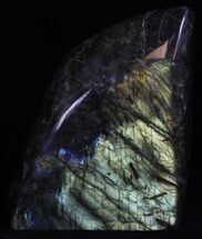 "5.2"" Flashy Polished Labradorite - Free-Standing For Sale, #37574"