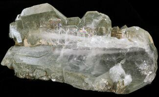 Faden Quartz with Chlorite - Fossils For Sale - #38628