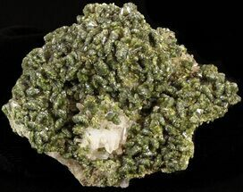 "3.6"" Lustrous, Epidote Crystal Cluster - Morocco For Sale, #40880"