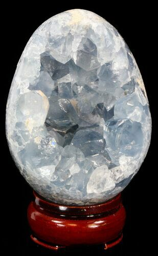 "3.5"" Crystal Filled Celestine (Celestite) ""Egg"" - Madagascar"