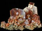 "1.7"" Large, Deep Red Vanadinite Crystals - Morocco - #42150-1"